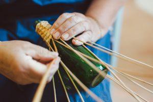 Pletenje iz šibja, ličja, lončarstvo in ročno tkanje @ Dvorec Strmol   Rogatec   Šmarje pri Jelšah   Slovenija
