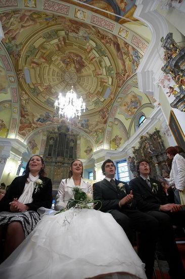 5 - Poročni obred v nadžupnijski cerkvi sv. Jerneja v Rogatcu