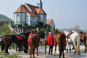 Jurjeva nedelja z blagoslovom konj @ Pri cerkvi sv. Jurija