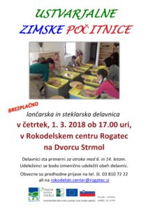 Ustvarjalne zimske počitnice @ Dvorec Strmol | Šmarje pri Jelšah | Slovenija