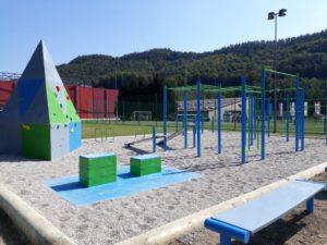 Predstavitev vadbenih elementov na novem igrišču Vaje za moč @ Športni park Rogatec pri OŠ Rogatec