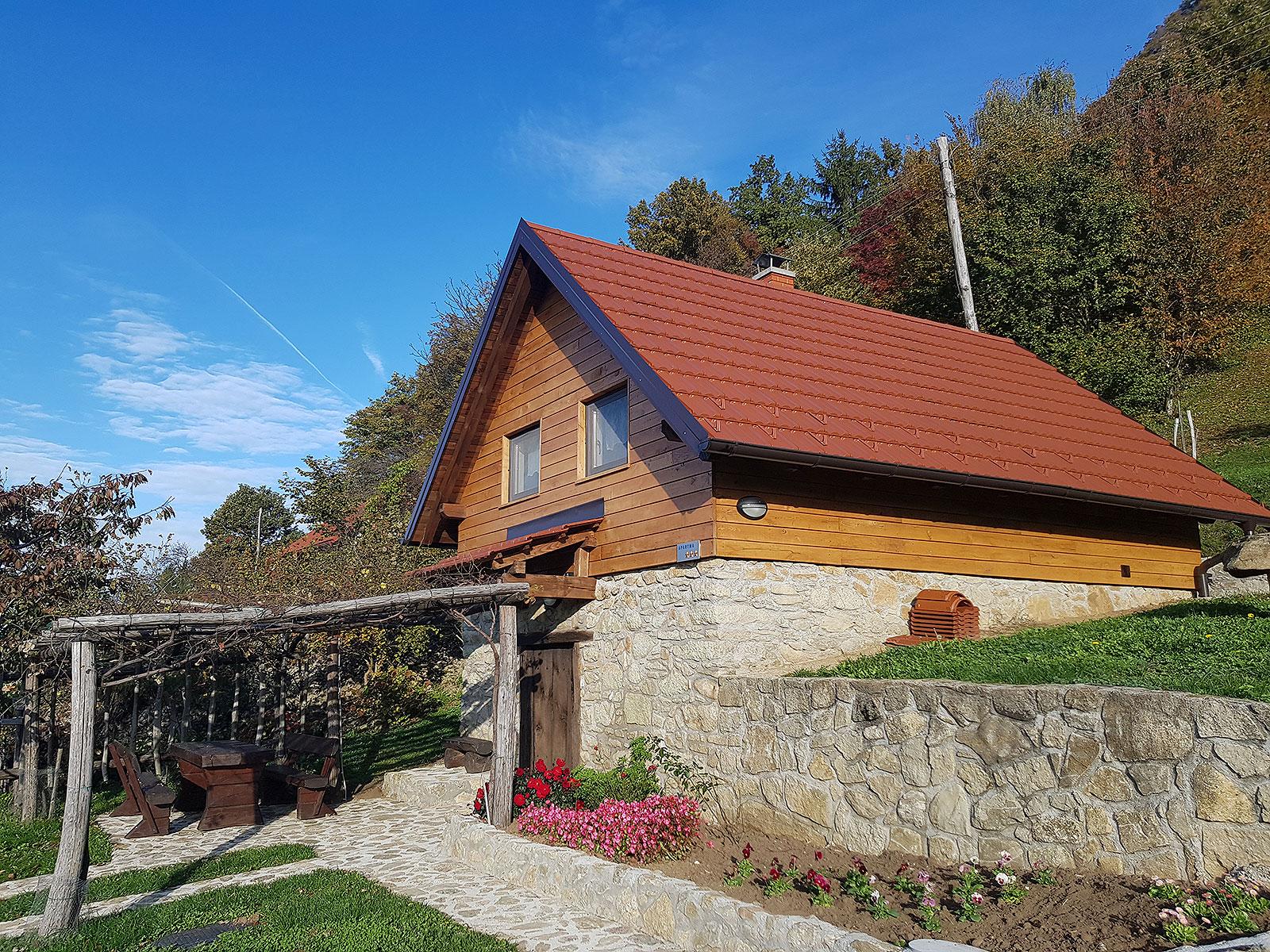 Cottage near St. Donat Donačka Gora